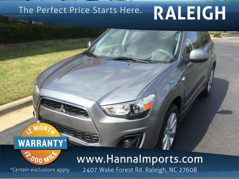 2014 Mitsubishi Outlander Sport for sale in Raleigh, NC