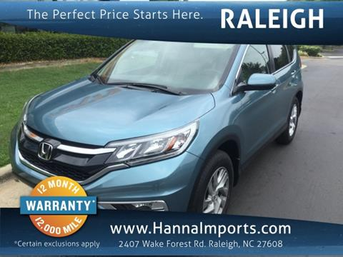 2016 Honda CR-V for sale in Raleigh, NC