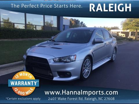 2010 Mitsubishi Lancer Evolution for sale in Raleigh, NC