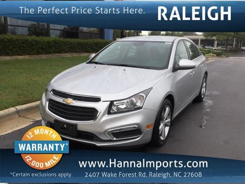 2015 Chevrolet Cruze for sale in Raleigh, NC