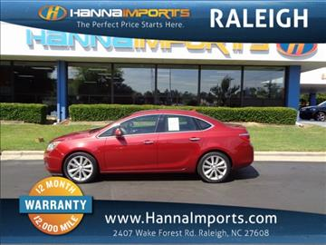 2012 Buick Verano for sale in Raleigh, NC