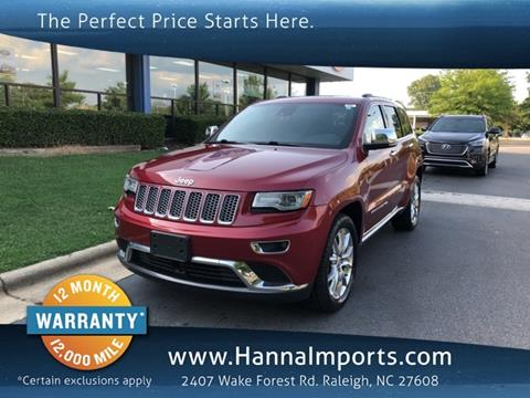 2014 Jeep Grand Cherokee For Sale In Raleigh, NC