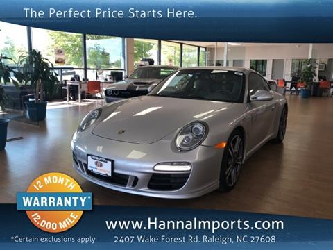 2011 Porsche 911 for sale in Raleigh, NC