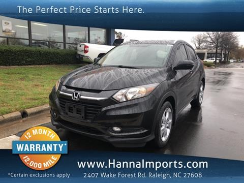 2016 Honda HR-V for sale in Raleigh, NC