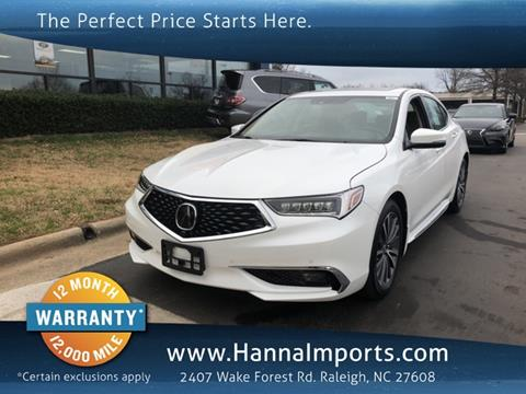 2018 Acura TLX for sale in Raleigh, NC