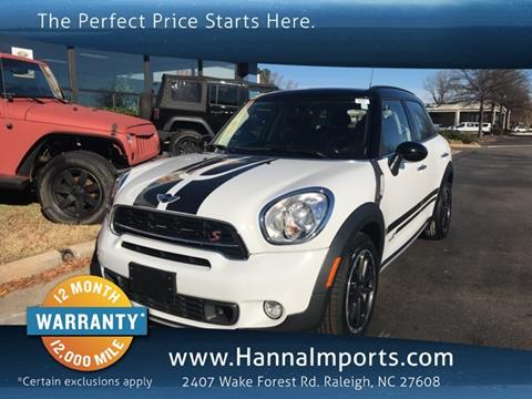 2016 MINI Countryman for sale in Raleigh, NC