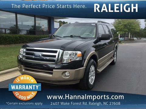 2013 Ford Expedition EL for sale in Raleigh, NC