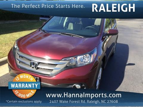 2014 Honda CR-V for sale in Raleigh, NC