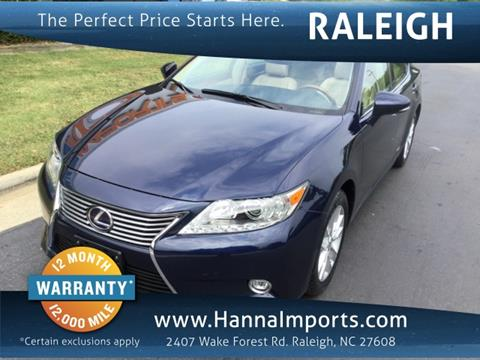 2014 Lexus ES 300h for sale in Raleigh, NC