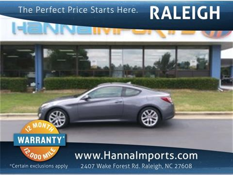 2016 Hyundai Genesis Coupe for sale in Raleigh, NC