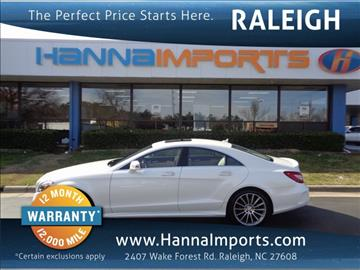 2016 Mercedes-Benz CLS for sale in Raleigh, NC