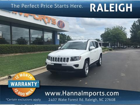 2015 Jeep Compass for sale in Raleigh, NC