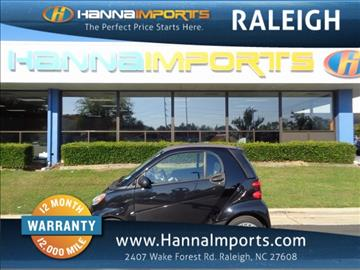 2014 Smart fortwo for sale in Raleigh, NC