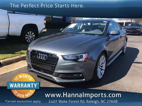 2016 Audi A5 For Sale In Raleigh Nc