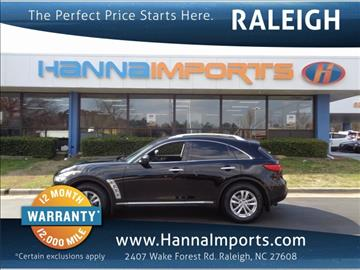 2013 Infiniti FX37 for sale in Raleigh, NC