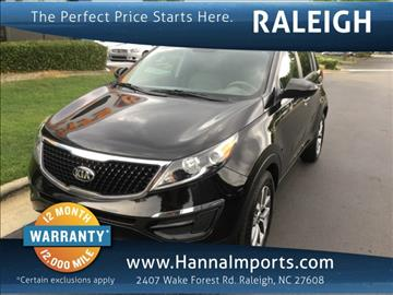 2016 Kia Sportage for sale in Raleigh, NC