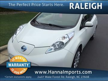 2015 Nissan LEAF for sale in Raleigh, NC
