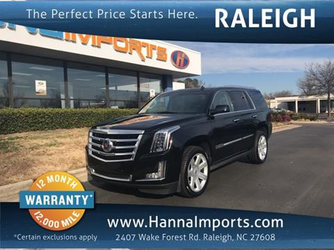 cadillac escalade for sale in raleigh nc. Black Bedroom Furniture Sets. Home Design Ideas