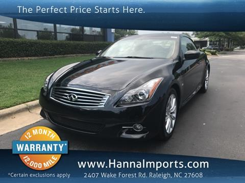 Infiniti Q60 Convertible For Sale In Grants Pass Or Carsforsale