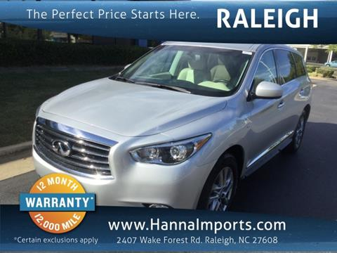 2015 Infiniti QX60 for sale in Raleigh, NC