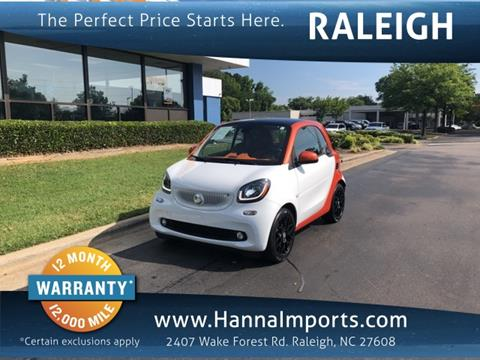 2016 Smart fortwo for sale in Raleigh, NC