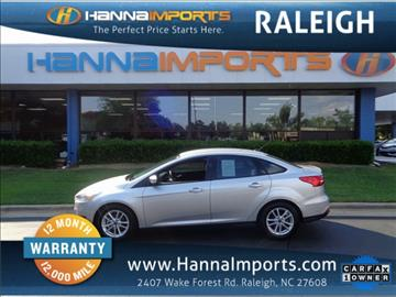 2016 Ford Focus for sale in Raleigh, NC