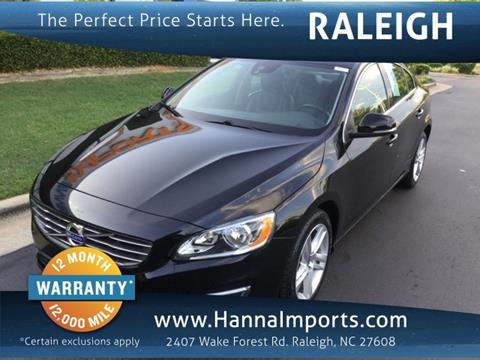 2015 Volvo S60 for sale in Raleigh, NC