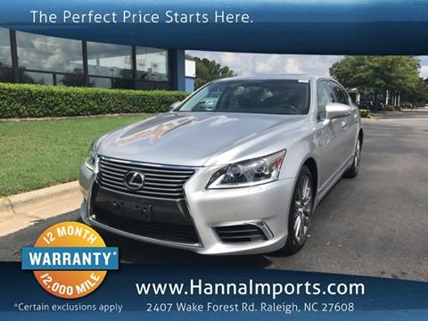 2016 Lexus LS 460 For Sale In Raleigh, NC