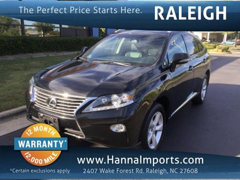 2015 Lexus RX 350 for sale in Raleigh, NC