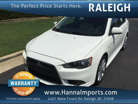 2014 Mitsubishi Lancer Sportback for sale in Raleigh, NC