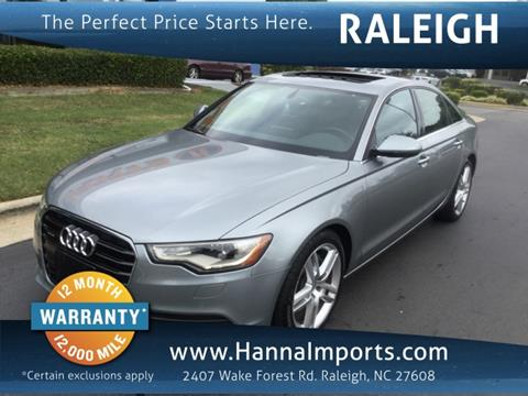 2015 Audi A6 for sale in Raleigh, NC