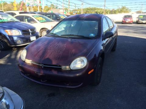 2000 Plymouth Neon for sale in Glasboro, NJ