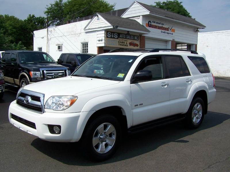 2007 toyota 4runner sr5 4dr suv 4wd v6 in bensalem pa s s auto sales. Black Bedroom Furniture Sets. Home Design Ideas