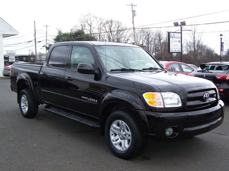 2004 toyota tundra limited 4dr double cab 4wd sb v8 in bensalem pa s s auto sales. Black Bedroom Furniture Sets. Home Design Ideas