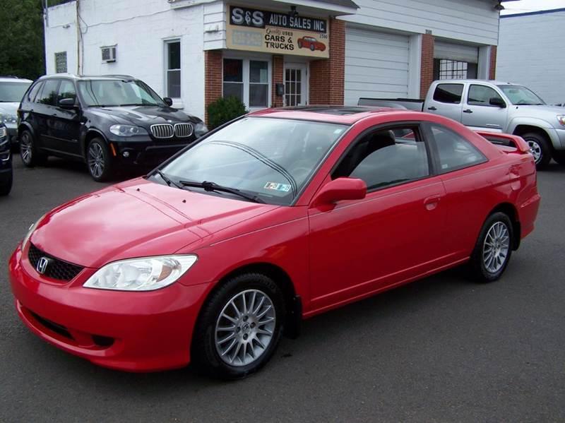 2005 Honda Civic EX Special Edition 2dr Coupe   Bensalem PA