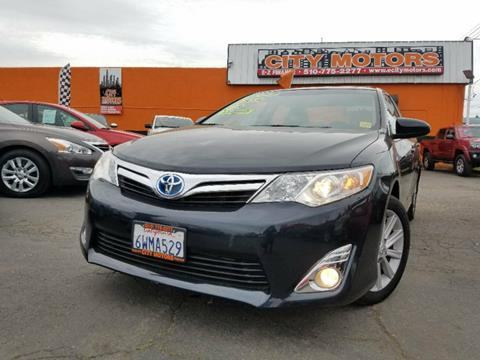 2012 Toyota Camry Hybrid for sale in Hayward, CA