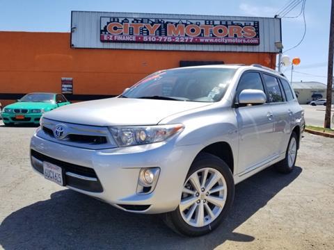 2012 Toyota Highlander For Sale >> 2012 Toyota Highlander Hybrid For Sale In Hayward Ca