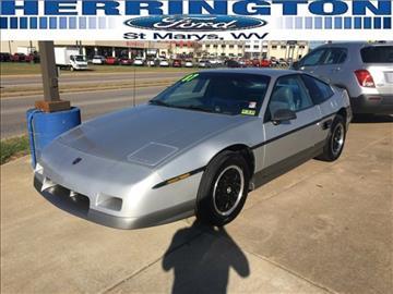 1987 Pontiac Fiero for sale in Marietta, OH