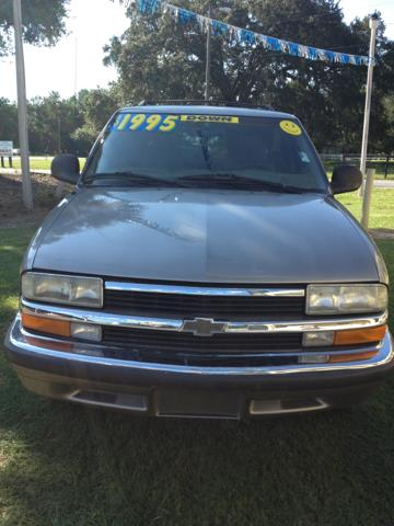 1998 Chevrolet Blazer For Sale In Ocala FL - SMILEY'S AUTO SALES