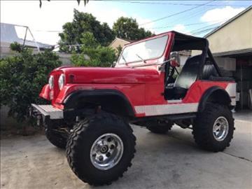 1980 Jeep CJ-5 for sale in Riverhead, NY