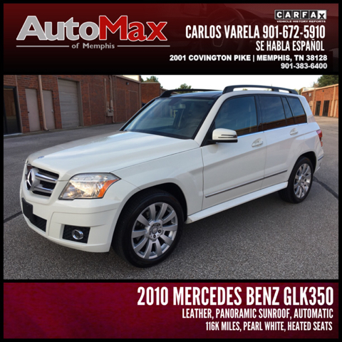2010 mercedes benz glk glk350 4matic awd 4dr suv in for Memphis mercedes benz