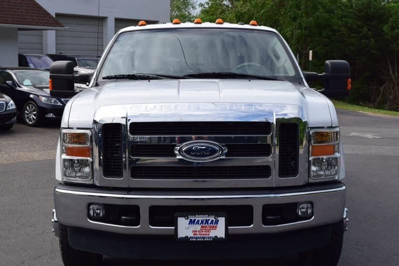 2009 Ford F-350 Super Duty 4x4 Lariat 4dr Crew Cab 8 ft. LB DRW - Fredericksburg VA
