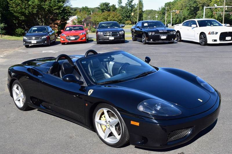 2004 Ferrari 360 Spider 2dr Convertible - Fredericksburg VA
