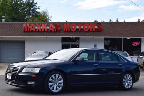 2010 audi a8 for sale On maxkar motors fredericksburg va