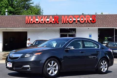 2012 Acura TL for sale in Fredericksburg, VA