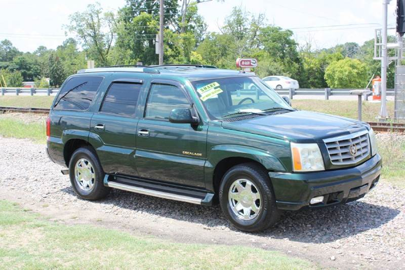 2003 CADILLAC ESCALADE BASE RWD 4DR SUV hgree air conditioning power windows power locks powe