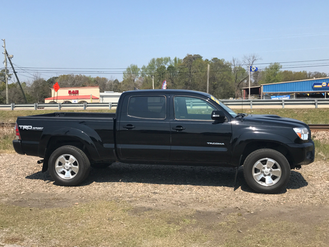 2014 TOYOTA TACOMA PRERUNNER V6 4X2 4DR DOUBLE CAB black air conditioning power windows power l