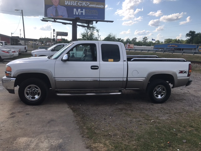 2002 GMC SIERRA 1500 K1500 white air conditioning power windows power locks power steering ti
