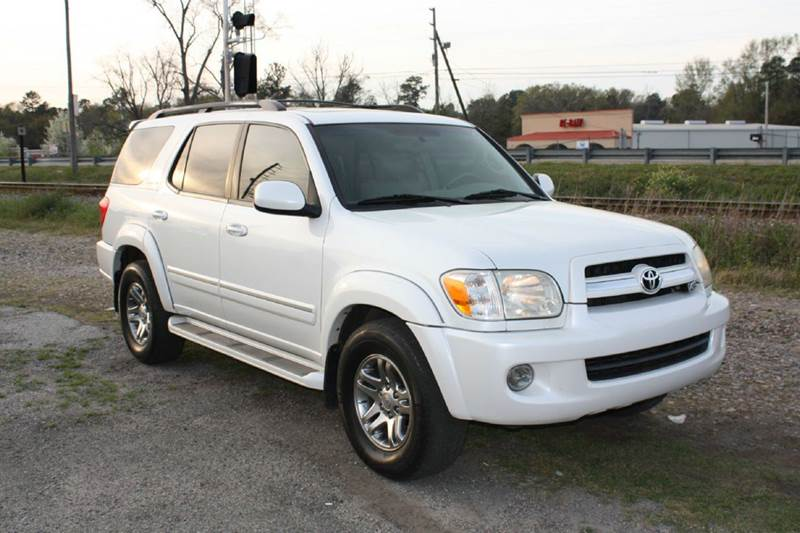 2006 TOYOTA SEQUOIA LIMITED 4DR SUV white air conditioning power windows power locks power ste