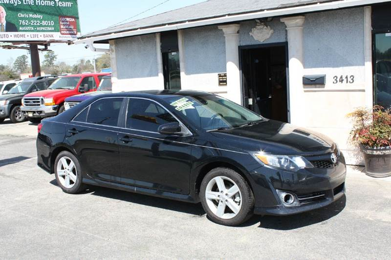 2012 TOYOTA CAMRY SE black air conditioning power windows power locks power steering tilt whe